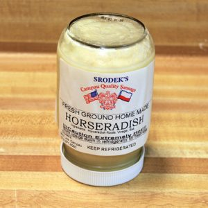 Fresh Ground Horseradish 16 oz.