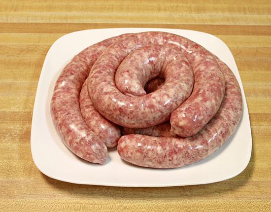 Fresh Polish Veal & Pork Sausage - Biala Swieza Kielbasa
