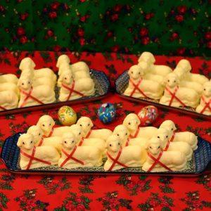 Butter Lamb -Baranki 2.5oz undressed (no bow or eyes)