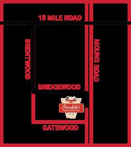 Srodeks location map