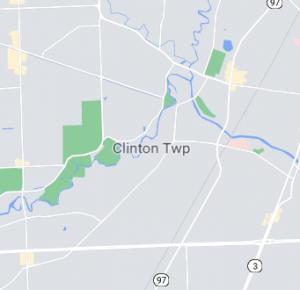 Clinton twp map