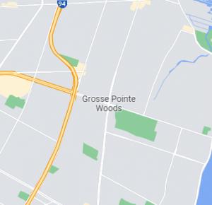 Grosse Pointe Woods map