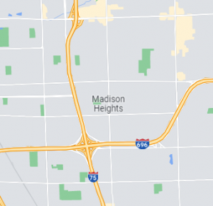 Madison Heights map