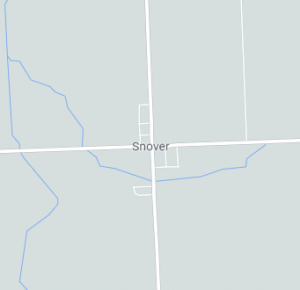 Snover map