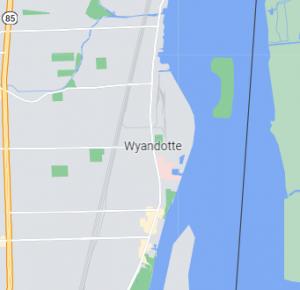 Wyandotte map